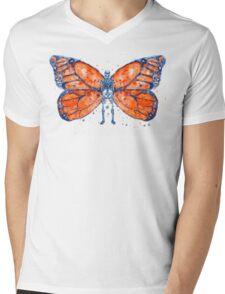 SkeleFly Mens V-Neck T-Shirt