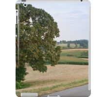 Traveling Through Farmland iPad Case/Skin