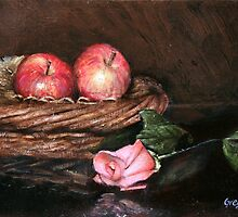 Apples in Basket by gregoryalex