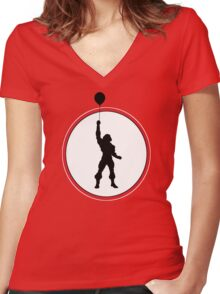 I HAVE THE BALLOON! 2 Women's Fitted V-Neck T-Shirt