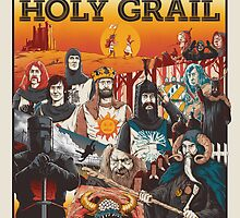 Monty Python and the Holy Grail by nikoby