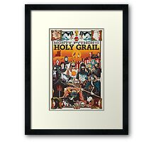 Monty Python and the Holy Grail Framed Print