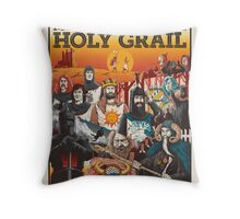 Monty Python and the Holy Grail Throw Pillow