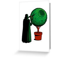 Meanwhile On The Death Star Greeting Card