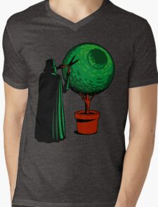 Meanwhile On The Death Star Mens V-Neck T-Shirt
