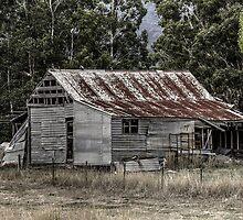 Farm Building by Colin  Ewington