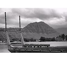 Outrigger Canoe Country Photographic Print