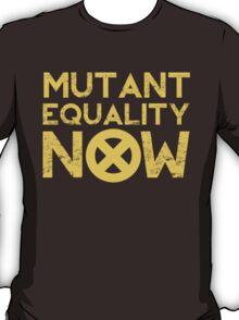 X-Men Mutant Equality NOW T-shirt T-Shirt