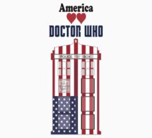 I Heart Doctor Who (USA TARDIS) by DewiAeon