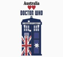 I Heart Doctor Who (Australia TARDIS) by DewiAeon