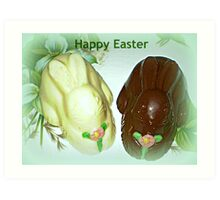 Happy Easter Card Art Print