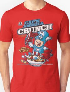 Cap'n America Crunch T-Shirt