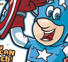 Cap'n America Crunch Sticker