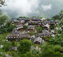 Ghandruk Village by abhandari