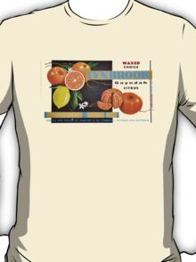 Waxed Choice Fruit Label T-Shirt