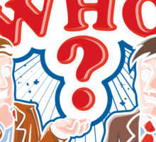 Guess Who? Sticker