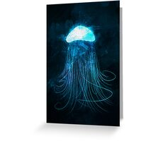 Jellyfish Greeting Card