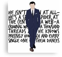 James Moriarty Canvas Print