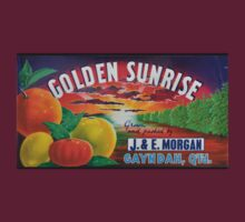Golden Sunrise Fruit Label by lupawereva