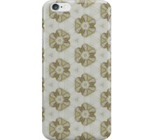 [yellow floral pattern iPhone Case/Skin