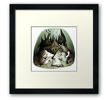 Scary Stories Framed Print