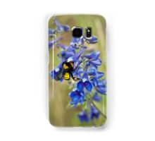 Bumble Bee On Larkspur Samsung Galaxy Case/Skin