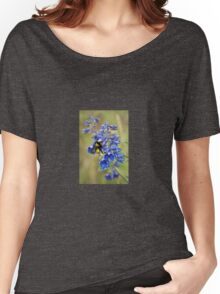 Bumble Bee On Larkspur Women's Relaxed Fit T-Shirt