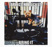 Bring The Ruckus BOY! by AlliV1983