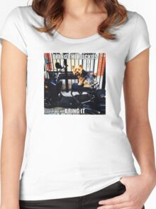 Bring The Ruckus BOY! Women's Fitted Scoop T-Shirt