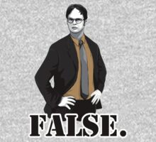 False! Dwight Schrute from the office TV series meme by 1to7