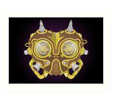 Majoras Mask Steampunk Art Print