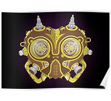 Majoras Mask Steampunk Poster