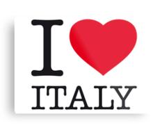 I ♥ ITALY Metal Print