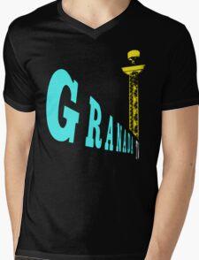 Granada TV, Manchester 3 Mens V-Neck T-Shirt