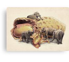 Elephant's Paradise  Canvas Print
