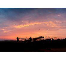 Lancaster Dispersal Photographic Print