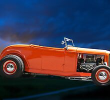 Orange Roadster by DaveKoontz
