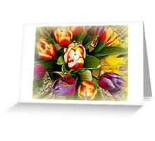 Spring of colours Greeting Card
