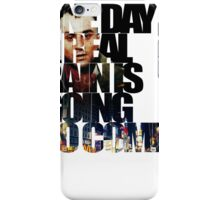 Taxi Driver - Quote iPhone Case/Skin
