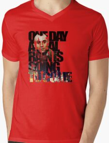 Taxi Driver - Quote Mens V-Neck T-Shirt