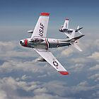 F86 - Sabre - Fighter School pair by warbirds