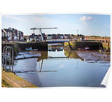 Maryport Harbour Ritson Wharf - Into The Light Poster