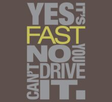 Yes it's fast No you can't drive it - 7 by TheGearbox