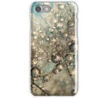 Metal Blue Dandy Sparkle iPhone Case/Skin