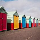 Brighton Beach Huts by Vincent Abbey