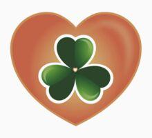 Lucky Heart Clover Nr. 06 by silvianeto