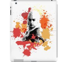 Daenerys Orange Colour Splash iPad Case/Skin