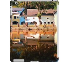 River reflections at the mill | waterscape photography iPad Case/Skin