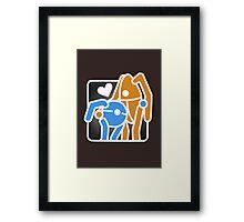 Portal Hug Framed Print