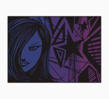 Star City Girl Purple Baby Tee